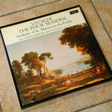 Record Album Cover – Vivaldi - The Four Seasons