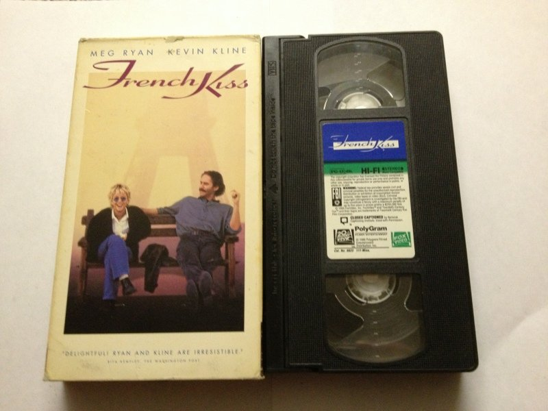French Kiss Used VHS Tape