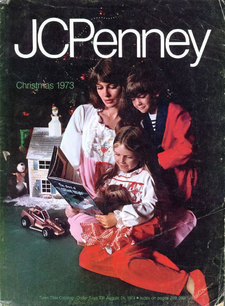 1973 Jc Penney Christmas Catalog Wishbook Great 70s Penneys