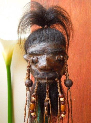 Funky Jivaro Shrunken Head SOLD
