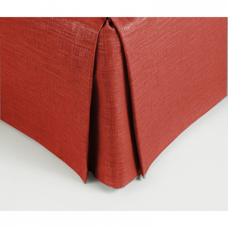 New Queen Size 15 Drop 100 Dupioni Silk Box Pleated
