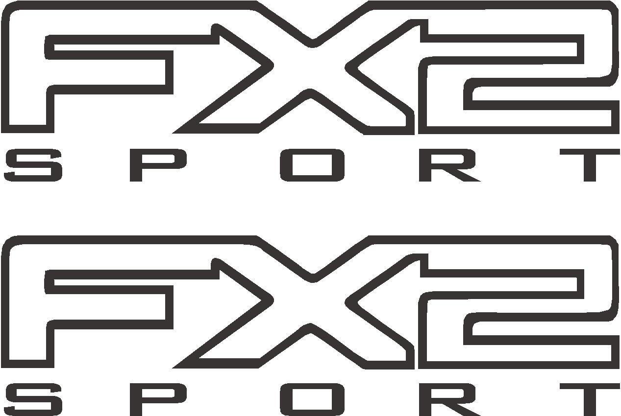 Ford F 150 F 250 F 350 Fx2 Sport Off Road Truck Decal Sticker X2