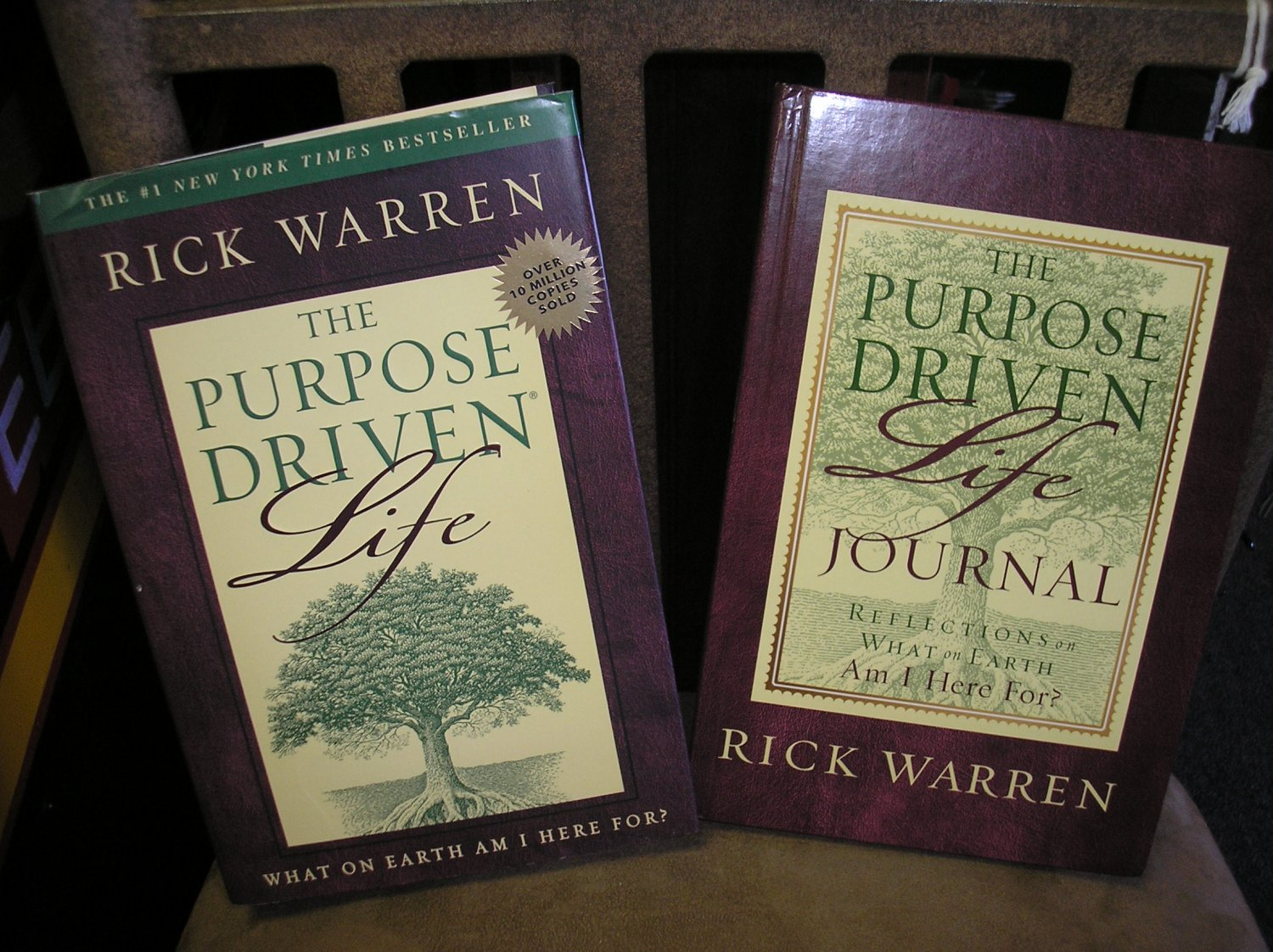 The Purpose Driven Life Hardcover Book Amp Journal