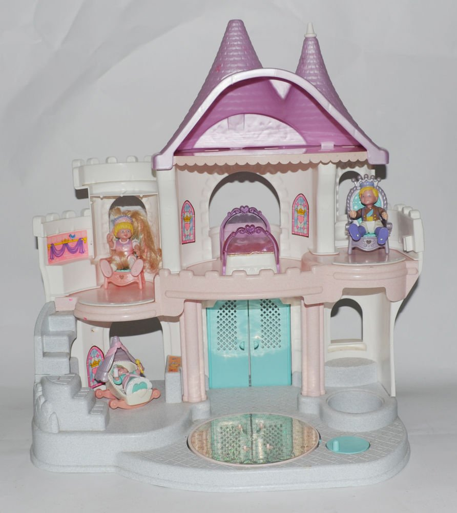 Fisher Price Loving Family Once Upon A Dream Castle Dollhouse