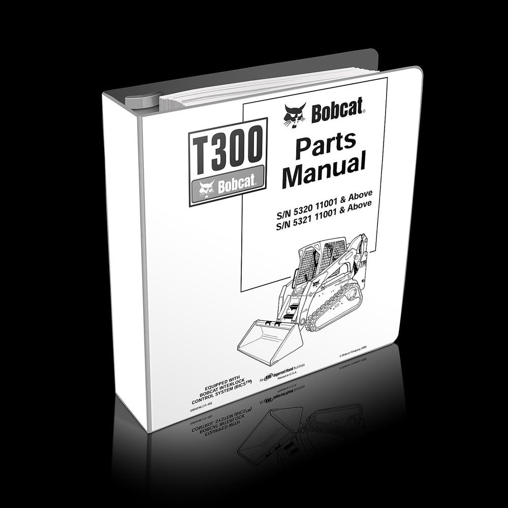 Bobcat T200 864 Compact Track Loader Parts Manual