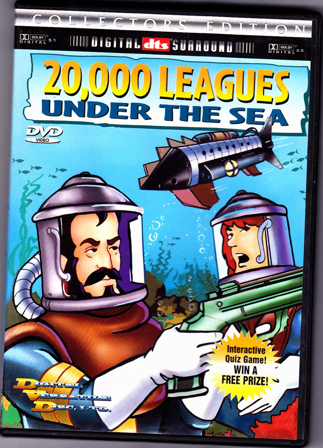 20 000 Leagues Under The Sea Dvd