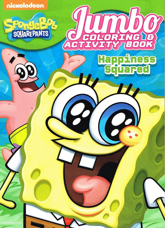 Spongebob Squarepants Coloring Amp Activity Book