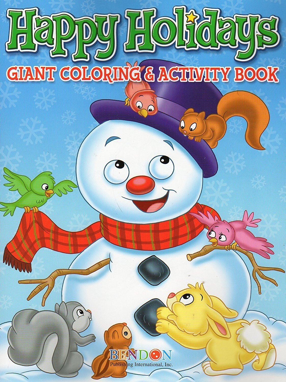 Happy Holidays Giant Coloring Amp Activity Book V2