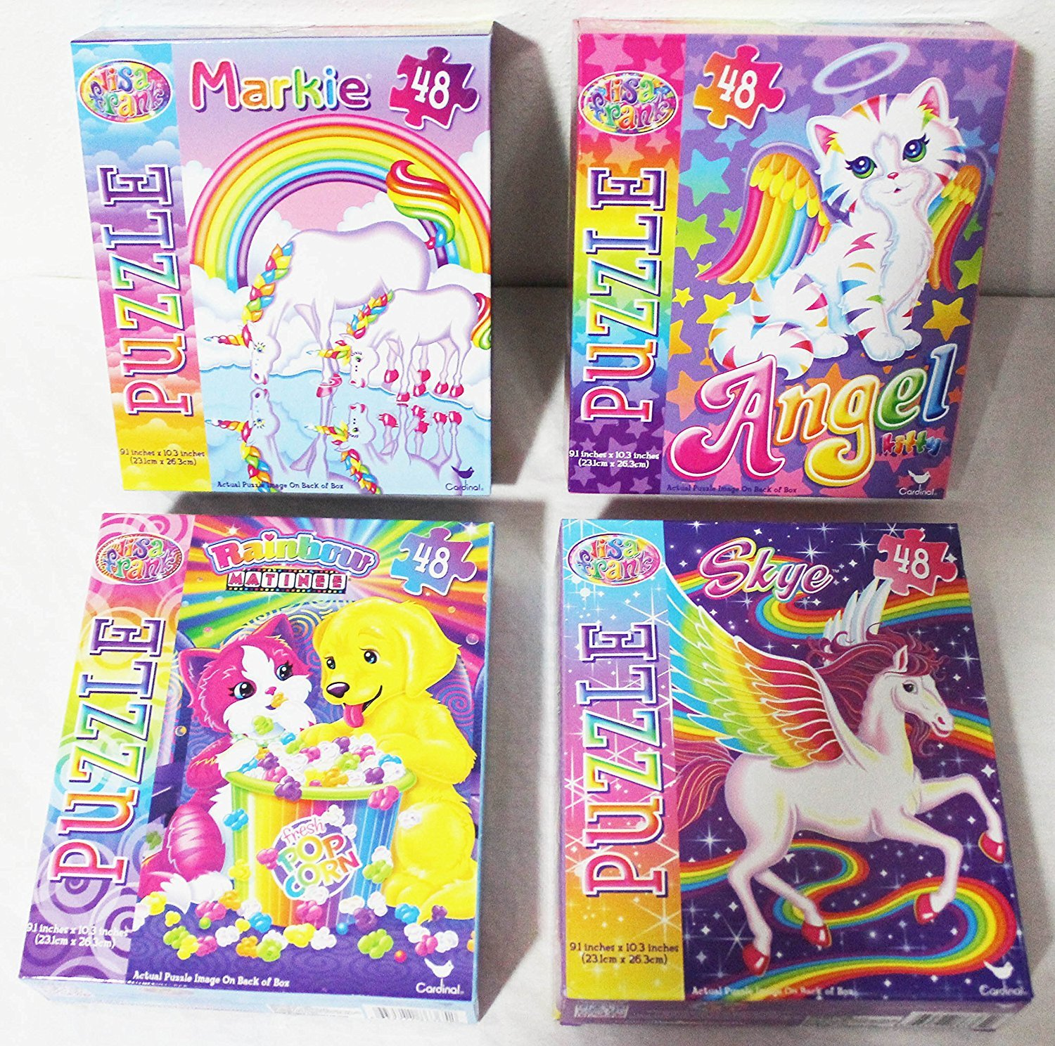 Lisa Frank 48 Piece Jigsaw Puzzle Assorted Styles Vary