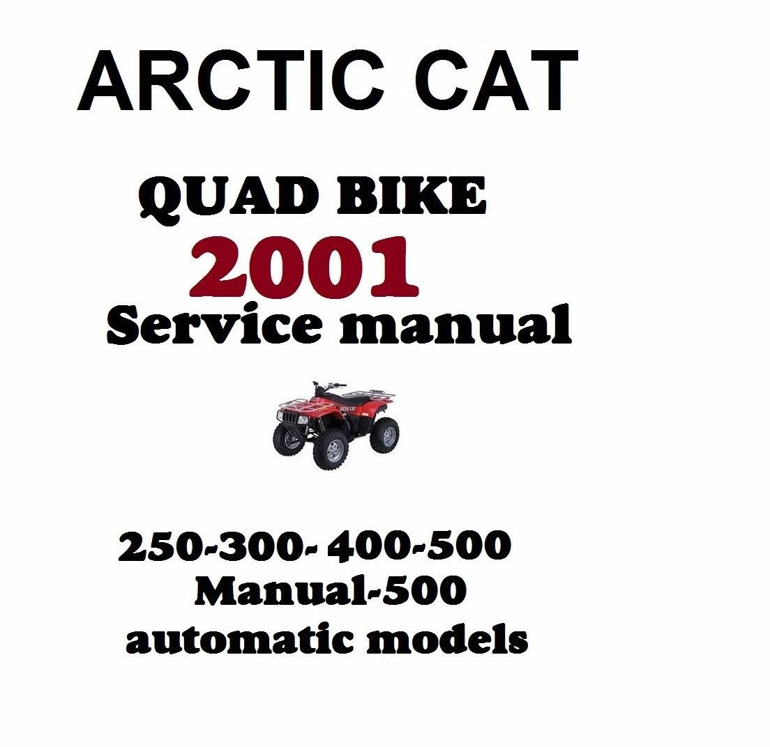 Arctic Cat Quad Bike Service Repair Manual 250 300