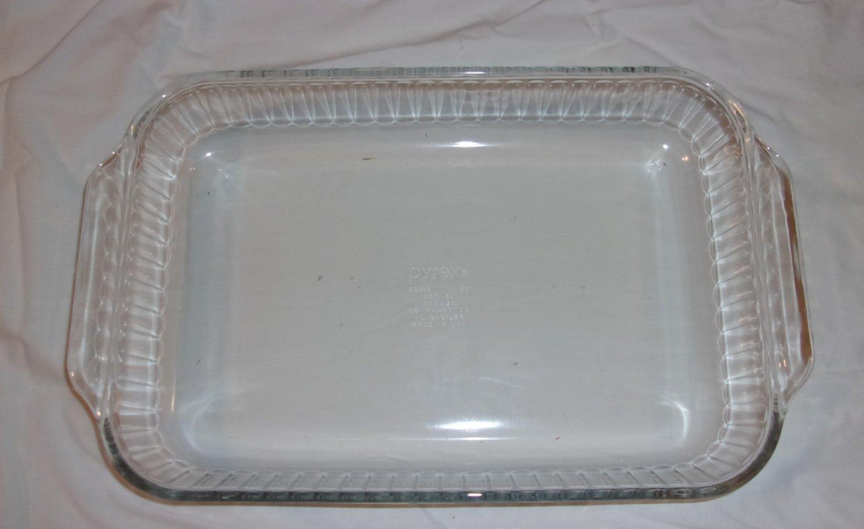 Pyrex Clear Baking Dish 233s 3 Qt 3 Liter 13 X 9 X 2