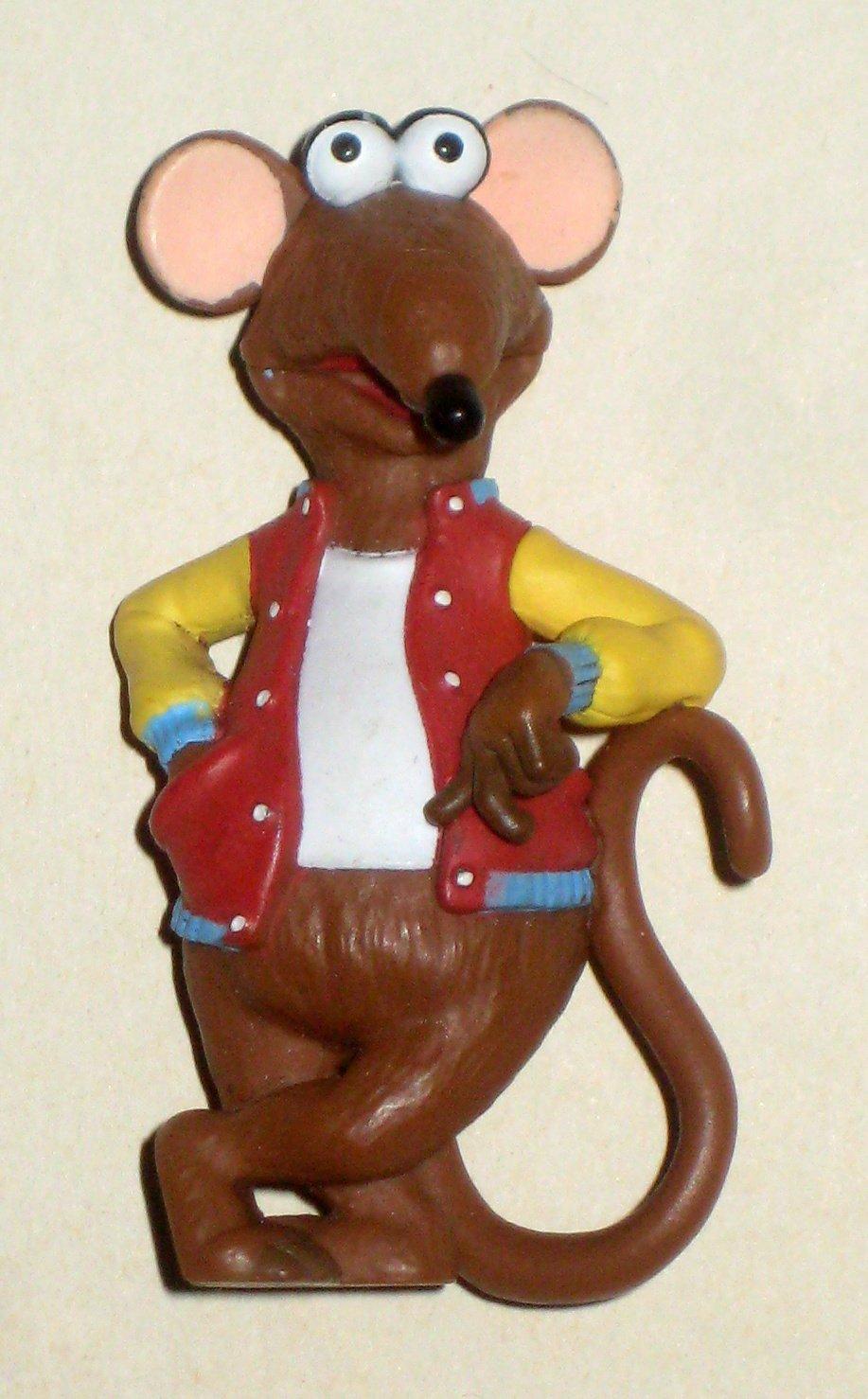 SOLD Rizzo 2 14 Inch PVC Plastic Figure Mouse Rat Muppets Sesame Street Jim Henson