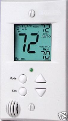 Carrier Totaline P374 Fm Flatstat Thermostat 2h 2c