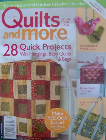 Better Homes And Gardens Quilting Ideas