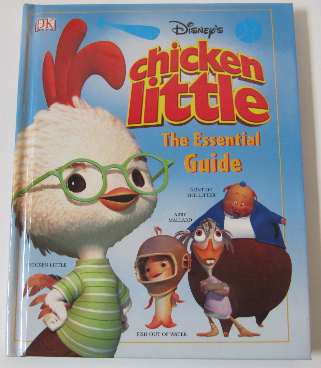 Disney S Chicken Little The Essential Guide Hardcover