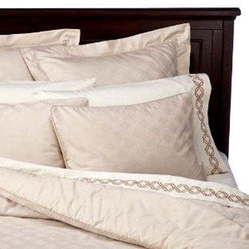 Fieldcrest Luxury Icon King 3 Pc Duvet Comforter Cover Set