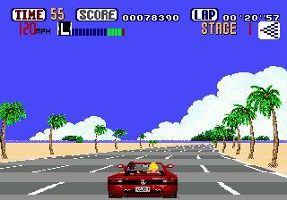 Image result for outrun genesis