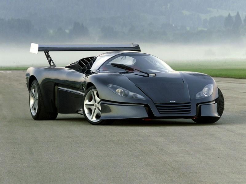 Sbarro GT1. автомобили, эксклюзив