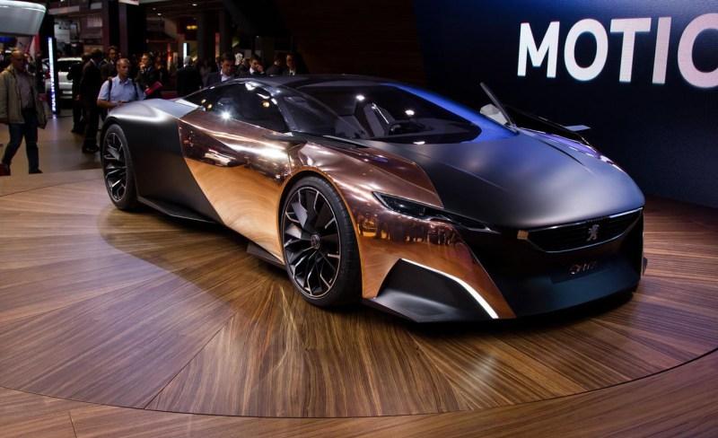 Peugeot Onyx. автомобили, эксклюзив