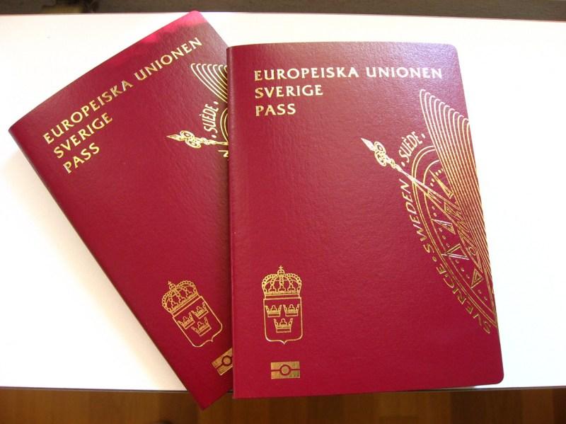 8.  Паспорта, выданные в Великобритании, Швеции и Финляндии, обеспечивают безвизовый въезд практически во все страны мира факты, швеция