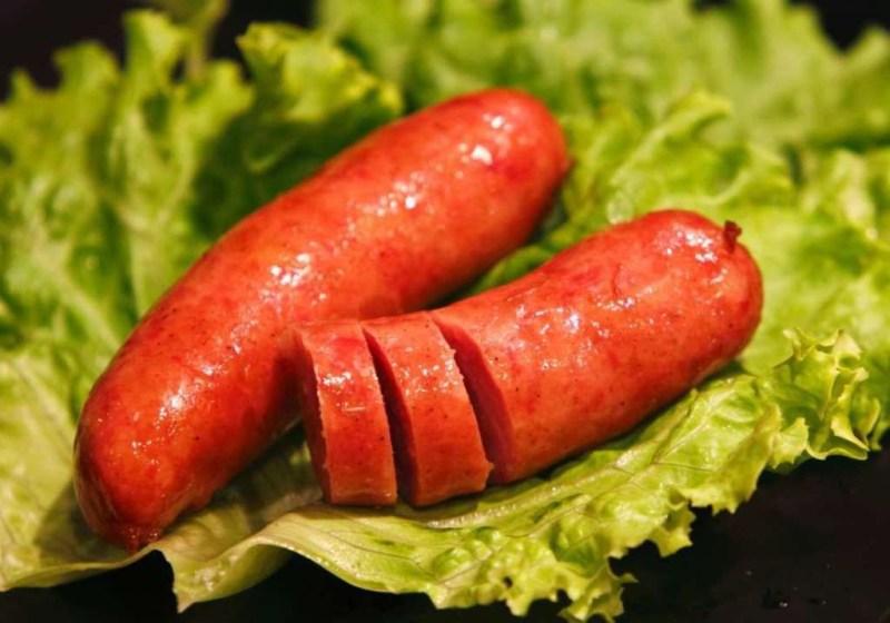 Краньская колбаса (Словения) блюдо, еда, туризм
