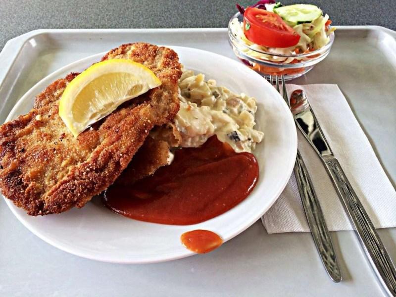 Венский шницель (Австрия) блюдо, еда, туризм