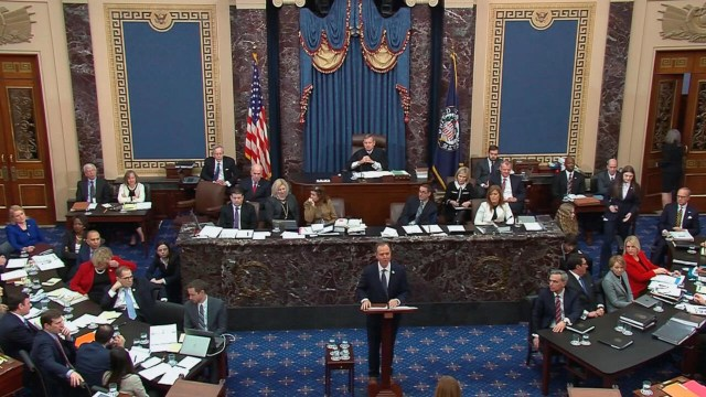 US Senate votes to block witnesses at Trump impeachment trial, paving way  for speedy acquittal