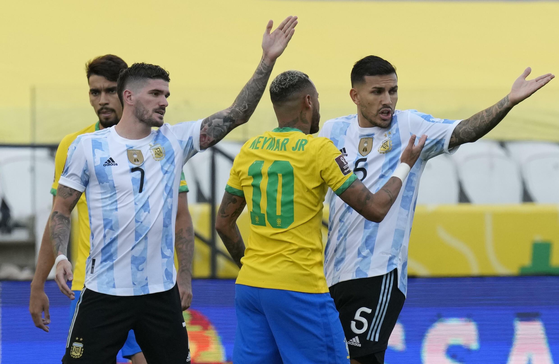 Brazil-Argentina match suspended over Covid controversy