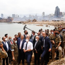 Lebanon at 'risk of disappearing', French minister says, pushing govt to adopt reforms