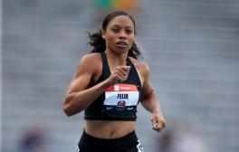 Image result for Allyson Felix: Six-time Olympic champion in US team for Worlds for ninth consecutive time