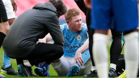 De Bruyne Injury Concern For Man City Ahead Of PSG Tie - France 24