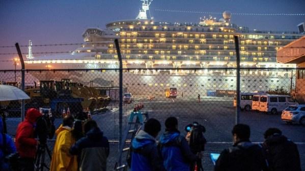 US passengers evacuated from quarantined cruise ship off Japan