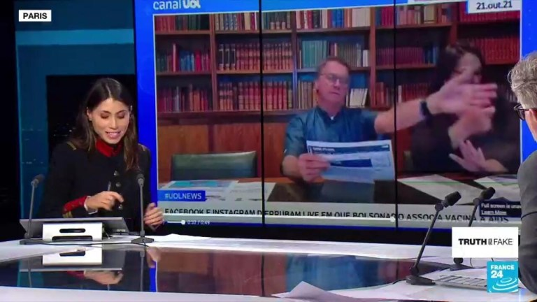 Watch Reality or Faux – President Bolsonaro sanctioned on social media for misinformation on COVID-19 vaccines  – France 24 information