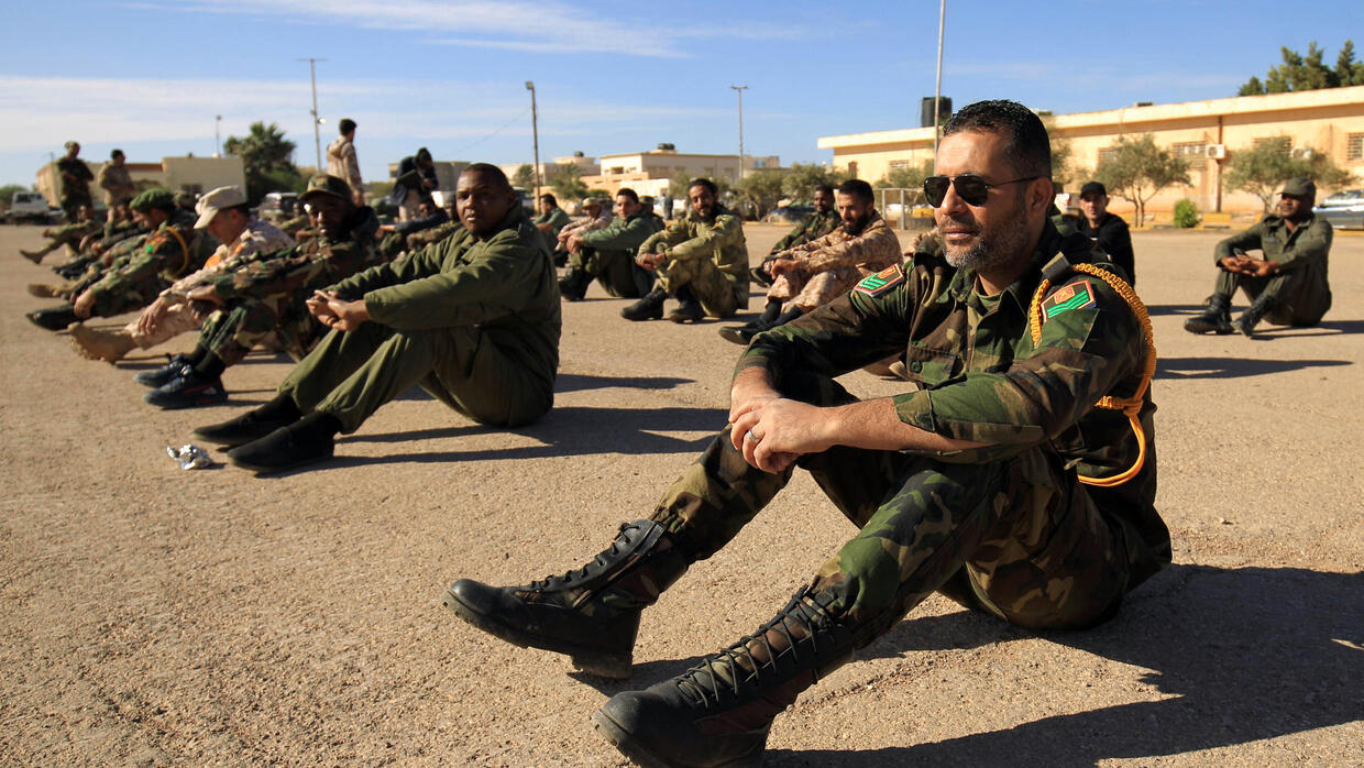 Rival Libyan Forces Clash West Of Sirte