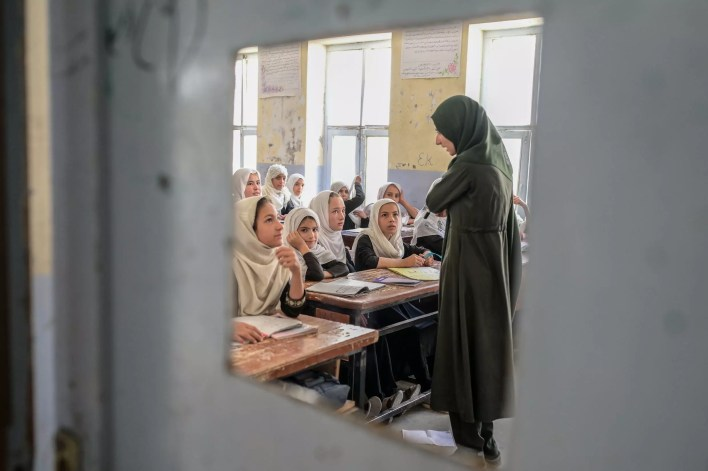 Despite Taliban pledges on rights, there is widespread fear and anxiety among Afghanistan's women