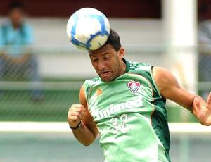 Washington no treino do Fluminense
