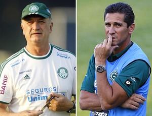 Scolari Felipão Jorginho Palmeiras x Goiás