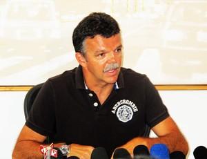 gilmar rinaldi coletiva (Foto: Carlos Augusto Ferrari/Globoesporte.com)