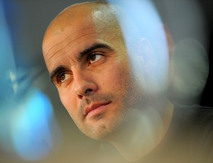 Guardiola coletiva Barcelona (Foto: AFP)