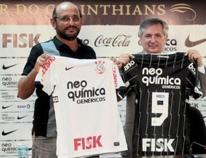 Timão apresenta quinto patrocinador para o uniforme nesta temporada | globoesporte.com