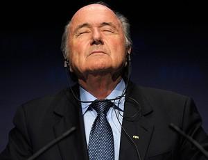 joseph blatter, presidente da fifa (Foto: agência AP)