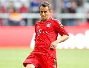 Rafinha no treino do Bayern de Munique (Foto: Divulgação)