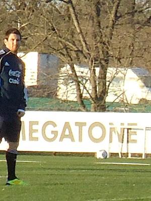 Messi treino Argentina (Foto: Marcos Felipe / Globoesporte.com)