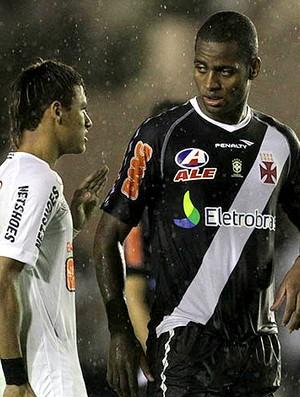 Neymar Dedé Santos x Vasco (Foto: Marcelo Sadio / Site Oficial do vasco)