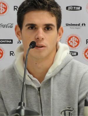 Oscar, no Inter (Foto: Eduardo Cecconi/Globoesporte.com)