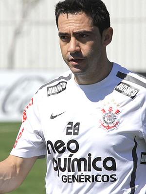 Chicão treino Corinthians (Foto: Ag. Estado)