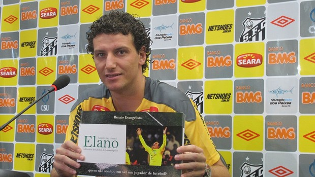 Elano lança biografia (Foto: Julyana Travaglia/Globoesporte.com)