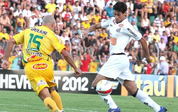 Ganso no jogo do Santos contra o Mirassol (Foto: Ag. Estado)
