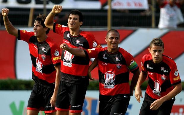 neto baiano bahia x vitória (Foto: Felipe Oliveiraújo/AGIF/Agência Estado)