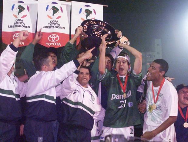palmeiras campeão libertadores 1999 (Foto: Agência Estado)